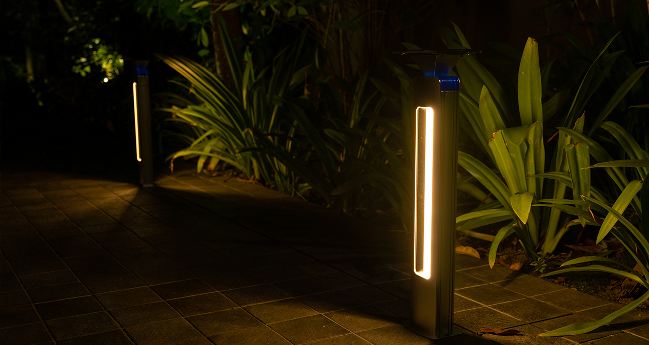 Lighthouse Solar Bollard