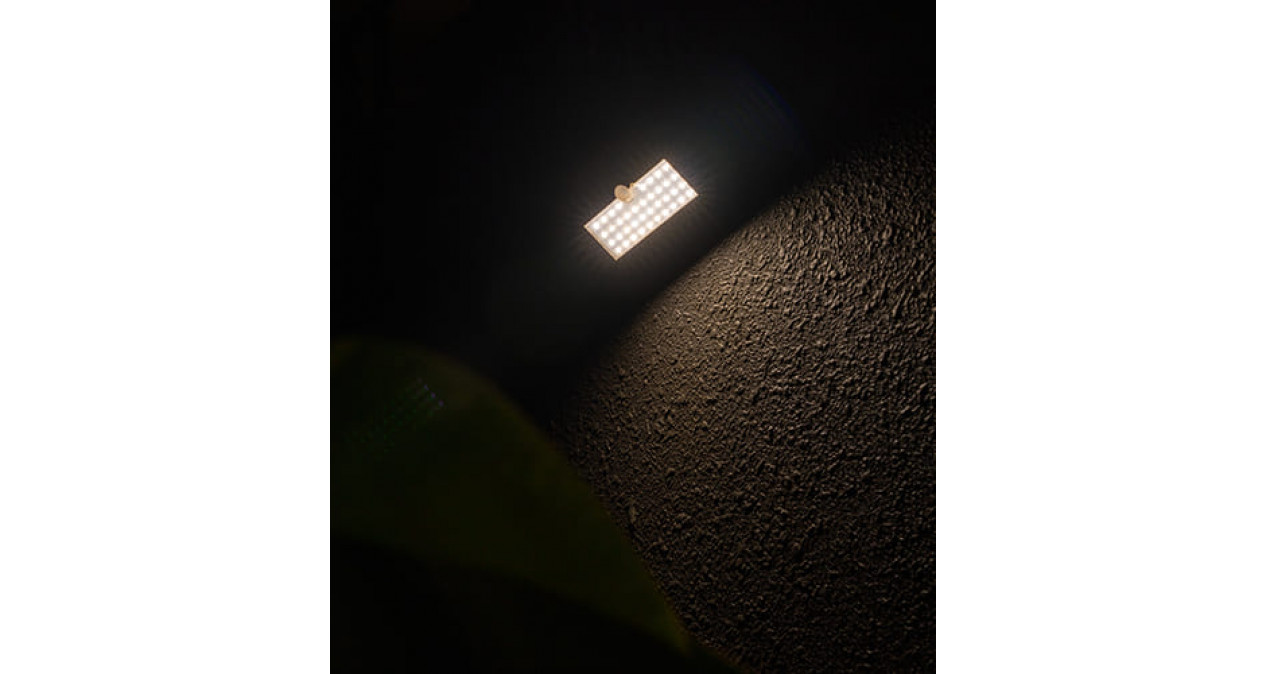 Small ABS Solar Motion Sensor Wall Light